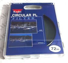 Kenko 72mm CPL CIRCULAR POLARIZER FILTER Pro CPL 72 mm PL-CIR Polar Pola Japan