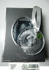 Waterford Crystal 2013 TIMES SQUARE Disk Christmas/New Year Ornament, New in Box