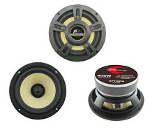 NEW Lanzar OPTI6PM Opti Pro 400 Watts 6.5'' High Power Coaxial Speaker