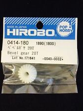 0414180 Hirobo Freya RC Helicopter Bevel Gear 20T 0414-180 New In Package