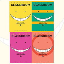 Yusei Matsui Assassination Classroom Vol(1 to 4)Collection 4 Books Set NEW BRAND