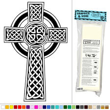 Celtic Cross Knotted - Vinyl Sticker Decal Wall Art Decor
