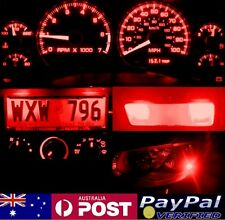 Red Full LED Conversion Kit (dash HVAC Parker ect) Holden Commodore VT VX