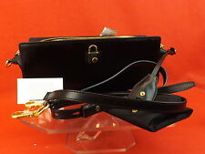 NWT ALEXANDER WANG BLACK LEATHER PELICAN CROSS BODY SLING BAG CLUTCH  $750