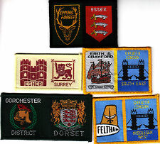 5 Boy Scout Double Badges inc EPPING FOREST