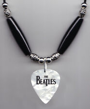 Cheap Trick Tom Petersson Beatles White Pearl Guitar Pick Necklace - 2009 Tour