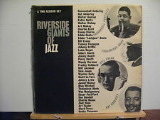 RIVERSIDE GIANTS OF JAZZ Cannonball Adderley ART BLAKEYetc 2LP free uk post!