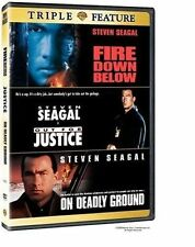 Fire Down Below/Out for Justice/On Deadly Ground (DVD 2006 - Steven Seagal)