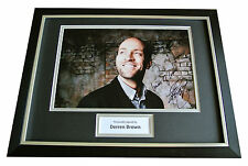 DERREN BROWN GENUINE HAND SIGNED & FRAMED AUTOGRAPH PHOTO DISPLAY MAGIC & COA