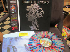 CAPTAIN BEYOND - Self Titled Splatter Lp VELVET Cover Prog  Rock Caldwell Evans