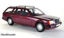 BoS Mercedes Benz 300 TE Estate Wagon Dark Red 1:18 Now in Stock!*Nice Car**