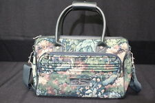 ATLANTIC Lightweight Floral/Tapestry, Hunter Green Carry-On/ Travel Luggage