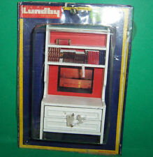 VINTAGE 1970's LUNDBY DOLLS HOUSE WALL CABINET UNIT & ORIGINAL CARD
