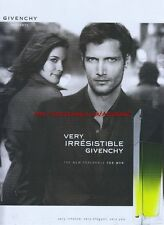 Givenchy Very Irresistible Fragrance 2005 Magazine Advert #1423