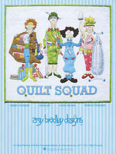 QUILT SQUAD QUILTING PATTERN, Fusible Applique From Amy Bradley Designs NEW