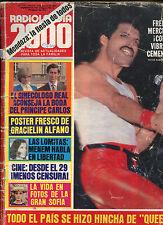 QUEEN Freddie Mercury LIVE IN ARGENTINA  Mag 1981