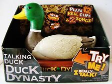 NIB – 'Duck Dynasty' Large Animated Talking Duck Official A&E (2013)