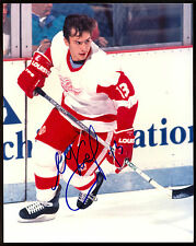 SLAVA KOZLOV AUTOGRAPH SIGNED AUTO 8X10 HOCKEY PHOTO WITH COA DETROIT RED WINGS