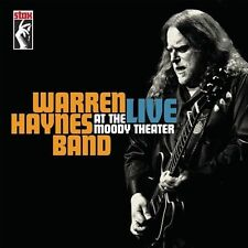 WARREN HAYNES BAND**LIVE AT THE MOODY THEATER**2 CD+DVD SET