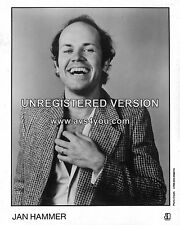 "Jan Hammer 10"" x 8"" Photograph no 1"