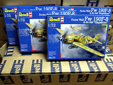 1/72 Plastikbausatz-Konvolut 4 X Focke Wulf Fw 190 F-8 & Bv 246 REVELL 04171 OVP