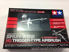 Tamiya Model Craft Tools Spary Work HG Airbrush with Integrated Cup 74540