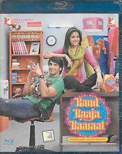 BAND BAAJA BAARA- RANVEER SINGH,ANUSHKA NEW BOLLYWOOD BLU RAY DVD -FREE UK POST