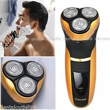 SALE Rotary Men's 3D Rechargeable Washable Cordless Electric Shaver Razor Deluxe