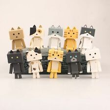 10pcs/set Revoltech Danbo Mini Cat in Danboard Danbo Figure CHN Ver. New in Box