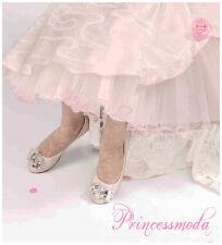 Festliche Mädchen Socken! Passend zum Kommunionkleid, Festkleid in weiß EDEL !