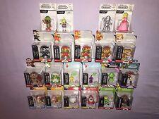 World of Nintendo HUGE LOT OF 21 Collectible Mini Figures **NEW**
