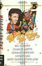 VHS WILLIE AND THE POOR BOYS - Deleted 1986 UK video - Bill Wyman-Rolling Stones