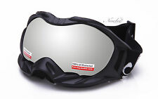 Winter Snow Ski Goggles Unisex Anti Fog Dual Lens UV Protection 3 Layers Foam