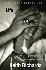 LIFE Keith Richards 2010 HC W / DJ Stated 1st Ed LARGE TYPE The Rolling Stones