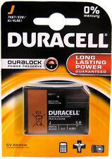 2 X DURACELL J Alkaline 6V Batteries 7K67 539 / KJ 539 / KJ 1412AP 4LR61