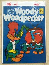 WALTER LANTZ WOODY WOODPECKER SPP 1970 VF+ High Grade! Australia B&W Silver Age