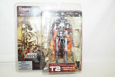 Mc Farlane Toys Movie Maniacs T2 Terminator T-800 Endoskeleton NEU OVP