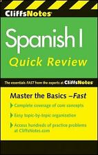 CliffsNotes Spanish I Quick Review, 2nd Edition Cliffs Quick Review Paperback