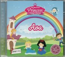 AVA THE BEST EVER PRINCESS SONGS AND STORIES PERSONALISED CHILDREN'S CD