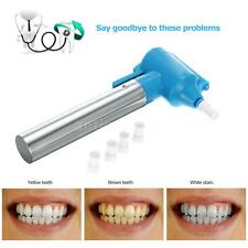 Pro Electric Teeth Polish Bleaching Cleaner Stain Remover Whitening Pen New F8L4