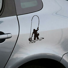Fisherman Fishing Art Car Auto Window Decal Fishing Car Body Sticker Vinyl Decal