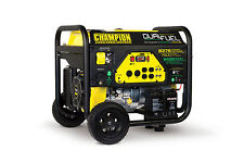New Champion 9375 watt Gas or Propane Portable Generator Carb Electric Start
