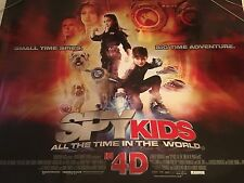 Spy Kids 4D Original Uk Quad Poster