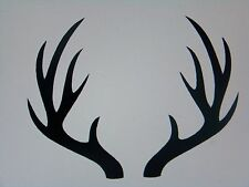 Antlers Deer Rack Wall, Windows, Lap Top Vinyl Decal / Sticker, all colors