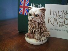 Harmony Kingdom Fluffy Pussy Cat RW CC Mbr Pc Marble Resin UK Made 1 Bad Cat SGN