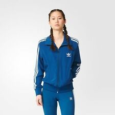 NEW Women's Originals Adidas Firebird Track Jacket Size: Small Color: Blue