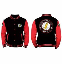 Il flash Baseball VARSITY Giacca Central City College Taglia Large