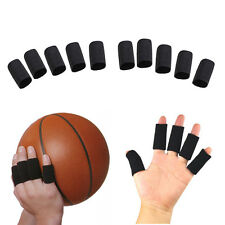 10 x Stretchy Finger Protector Sleeve Support Arthritis Sports Aid Straight Wrap