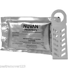 12 Nuvan Pro Strips Bed Bugs Flying Insect Pest Control