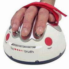 USA Electric Polygraph Shocking Liar Chance Truth Game Toy Shock Lie Detector